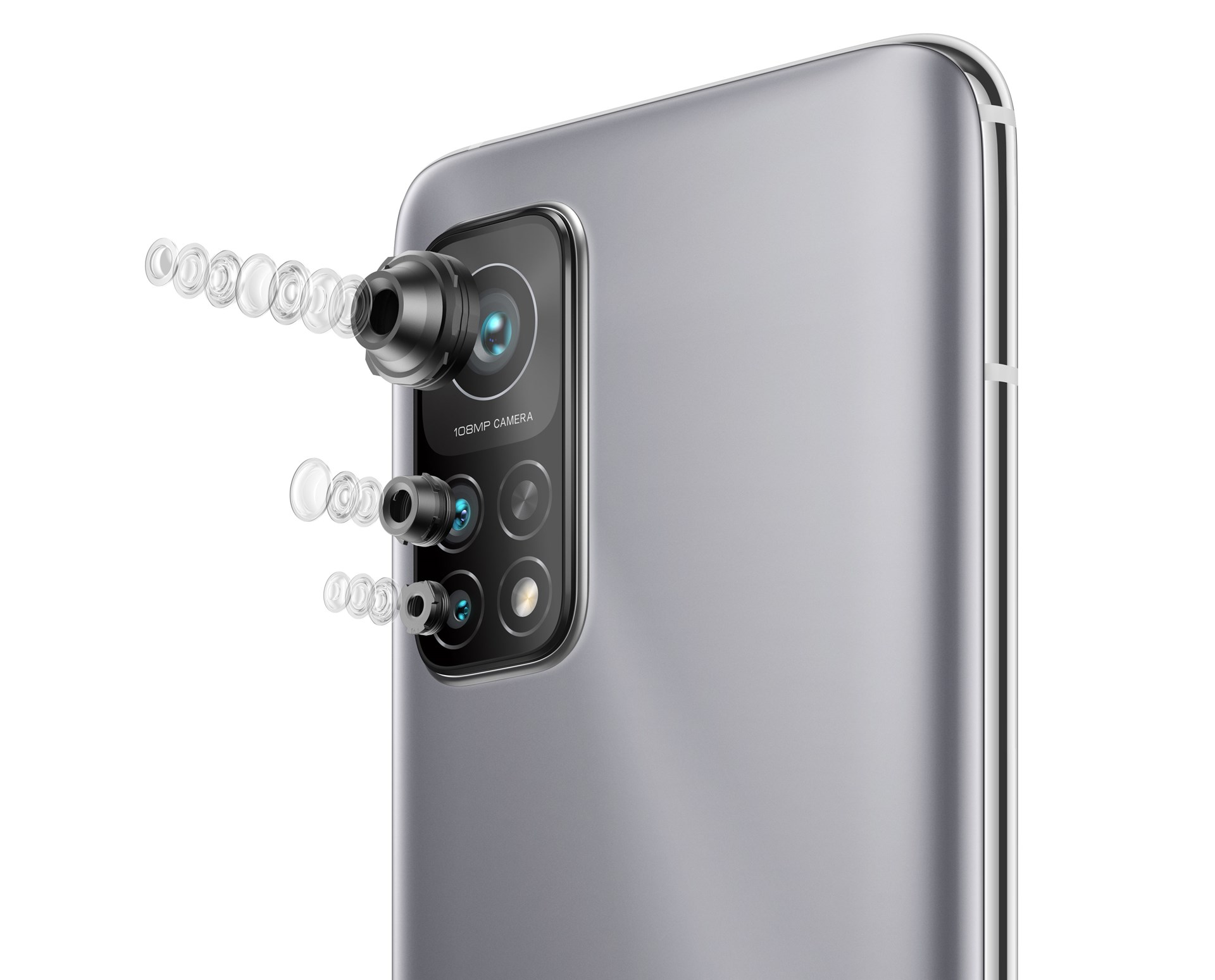 Xiaomi Mi 10T Pro mobiltelefon med 108 megapixel trippelkamera