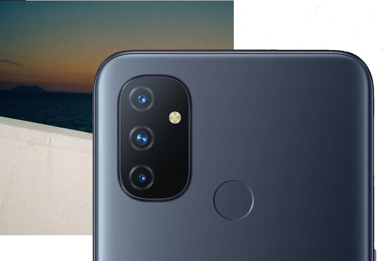 OnePlus Nord N100 har en trippelkamera