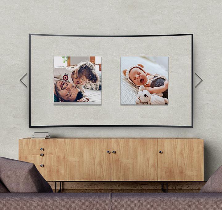 Samsung TV med Ambient Mode