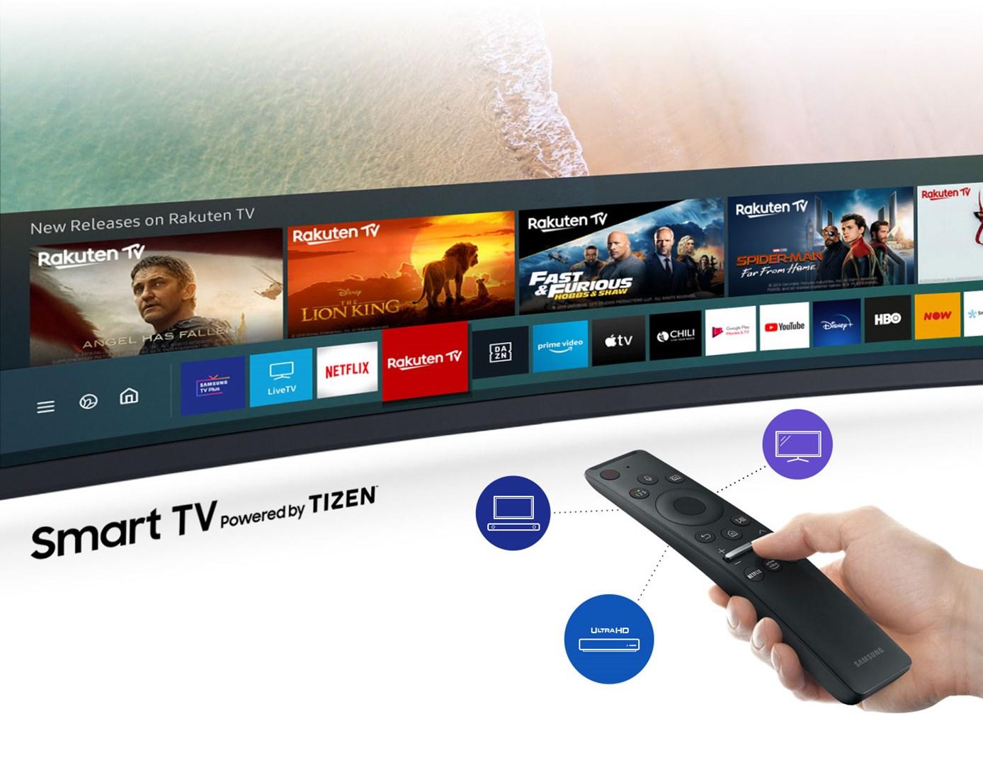 Samsung One Remote Control är en fjärrkontroll för allt innehåll
