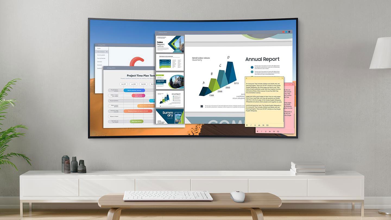 Använd din Samsung-TV som datorskärm