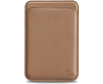 Andersson Magnetic card holder for Magsafe Tan