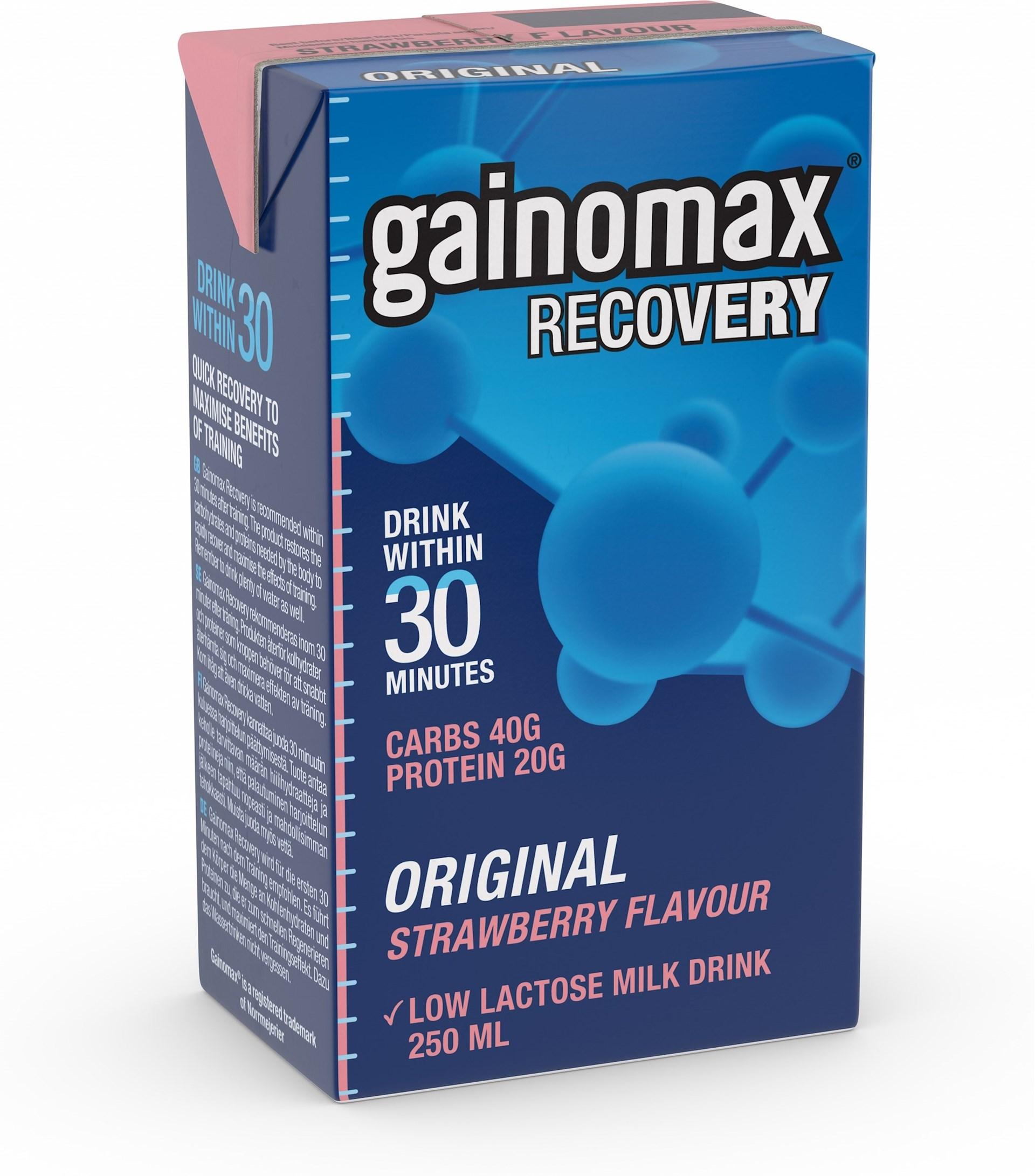 gainomax efter träning