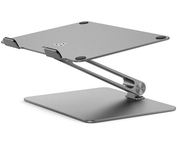 Alogic Elite Adjustable Laptop Riser – Space grey
