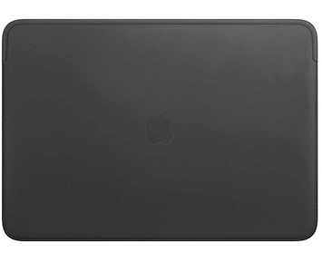 Apple Leather Sleeve for 16-inch MacBook Pro – Black
