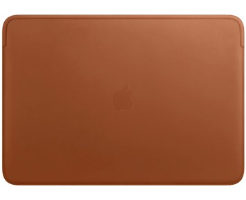 Apple Leather Sleeve for 16-inch MacBook Pro – Saddle Brown