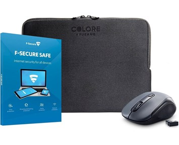 F-Secure SAFE + Andersson LPM 1.0 + Tucano Sleeve 13-141