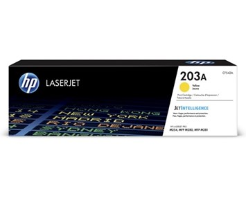 HP LaserJet 203A yellow toner