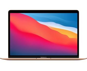 Apple MacBook Air 13-inch: M1 Chip, 8-Core CPU, 7-Core GPU, 16GB RAM, 256GB SSD - Gold
