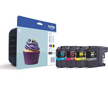 Brother LC123 ink cartridge value pack