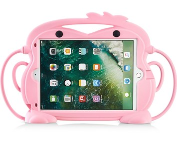 Andersson Silicone Protection iPadCover for Kids Monkey pink