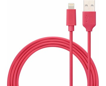 ON Lightning Cable Rose Red 1M 1A