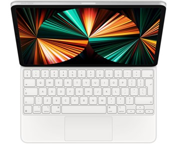 Apple Magic Keyboard for iPad Pro 11-inch (3rd generation) and iPad Air (4th generation) - Swedish - White