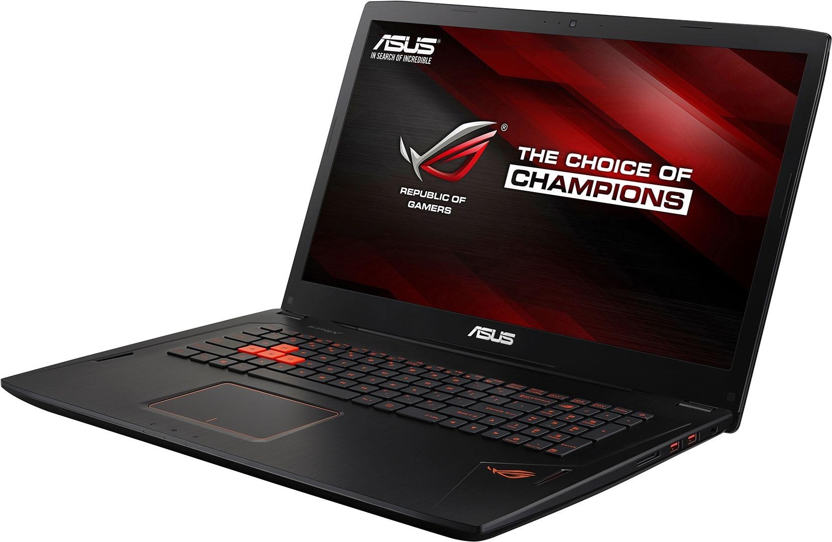 ASUS ROG GL702VT-GC056T - Snabb 17,3-tums speldator med högpresterande prestanda
