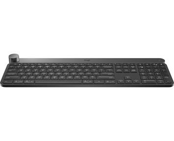 Logitech Craft Wireless Keyboard · Trådlöst tangentbord med smart  navigeringshjul deacdcd053206