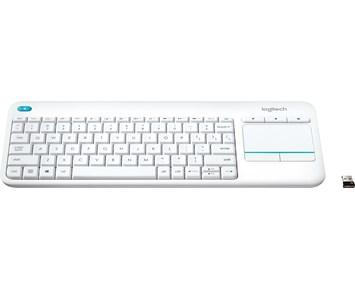 Logitech K400 Plus White 35d0c5f8b4b2b