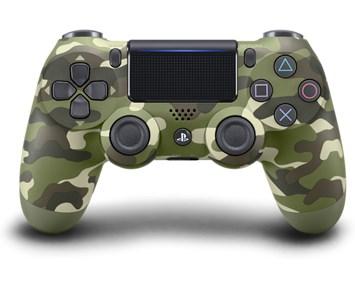 Sony PS4 DualShock 4 v2 Green Camo