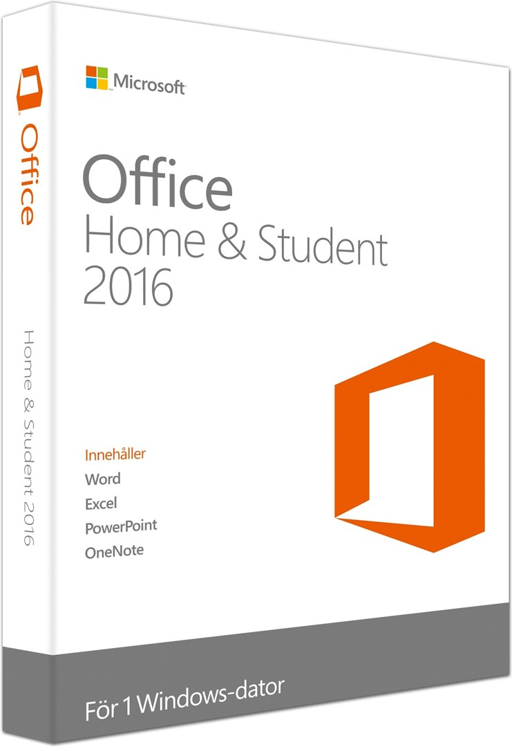 microsoft office home student 2016 f r skolarbetet nya office home and student 2016. Black Bedroom Furniture Sets. Home Design Ideas