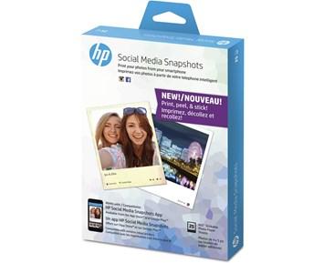 HP Social Media Snapshots 25 shee