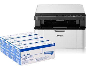 Brother DCP1610W + 4 Toner