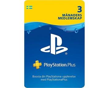 PS4 Psn.Plus.3.Mån