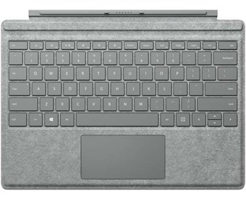 Microsoft Surface Pro Signature Type Cover Platinum Nordic