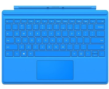 Microsoft Surface Pro4 Type Cover Light Blue