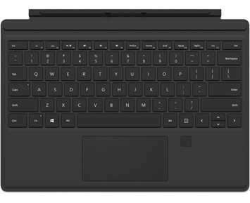 Microsoft Surface Pro4 Type Cover Black