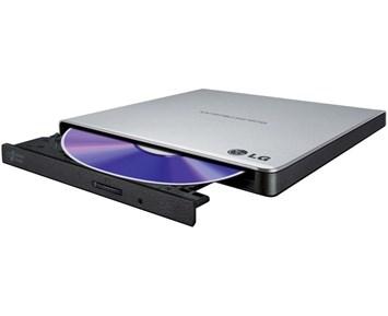 LG Slim External Base DVD-W Silver