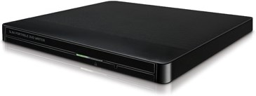 LG Slim External Base DVD-W Black