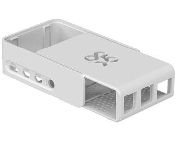 Raspberry Pi 4 model B Slide Case White
