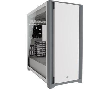 Corsair 5000D Tempered Glass White