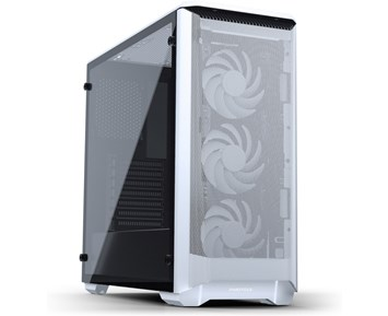 Phanteks P400A Eclipse Temp Glass RGB White
