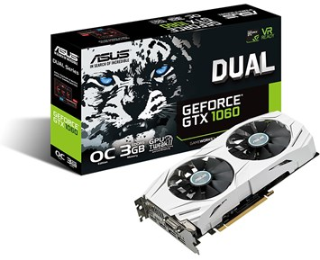 ASUS GeForce GTX1060 Dual OC 3GB