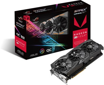 ASUS RX Vega 64 8GB Strix Gaming
