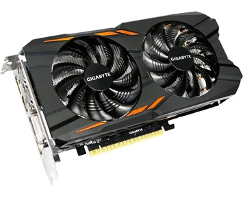 Gigabyte GeForce GTX1050 WF OC 2GB
