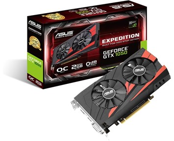 ASUS GeForce GTX1050 EX OC 2GB