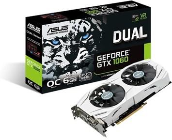 ASUS GeForce GTX1060 Dual OC 6GB