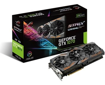 ASUS GeForce GTX1070 Strix OC 8GB