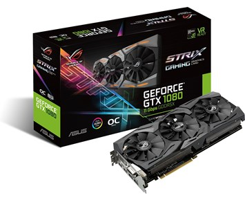 ASUS GeForceGTX1080 Strix Gaming OC