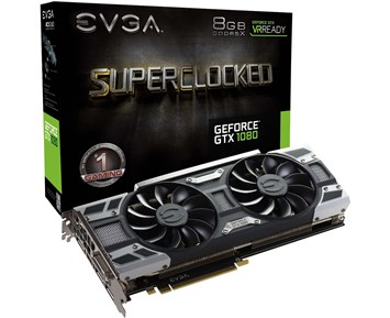 EVGA GeForce GTX1080 SC Gaming