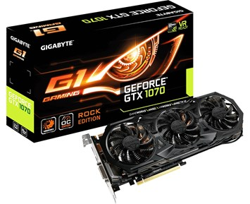 Gigabyte GeForce GTX 1070 G1 ROCK 8G