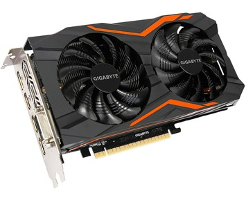 Gigabyte GeForce GTX1050TI G1 Gaming 4G