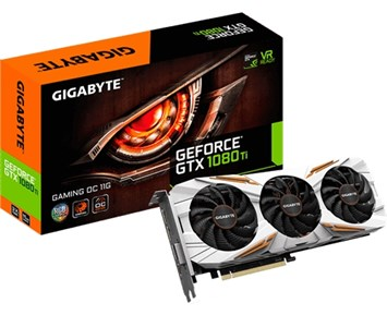 Gigabyte GeForce GTX1080TI Gaming OC