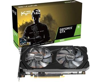 KFA2 GeForce GTX 1660 1-CLICK OC BLACK EDITION