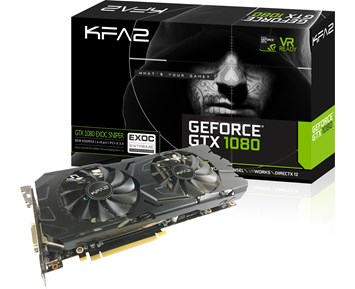 KFA2 GeForce GTX1080 EXOC-SNPR Black