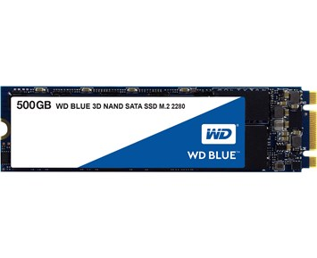 WD Blue Series M.2 500GB 3D Nand