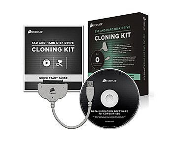 Corsair SSD & HDD kloningskit