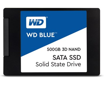 WD Blue Series SSD 500GB 3D Nand