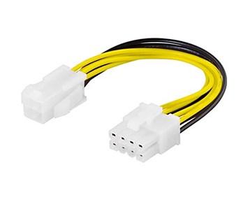 Deltaco 4-pin ATX12V till 8-pin EPS12V